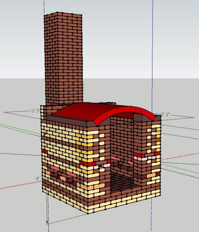 Soda Kiln designed for LSU