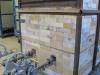 Cross-draft soda kiln